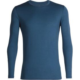 Icebreaker Tech Lite LS Crewe Shirt Men prussian blue
